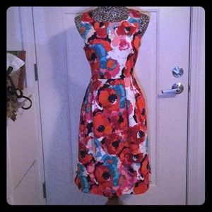 Immaculate multicolored dress by Rafaella!